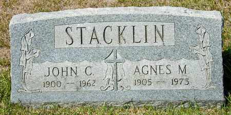 STACKLIN, JOHN C - Richland County, Ohio | JOHN C STACKLIN - Ohio Gravestone Photos