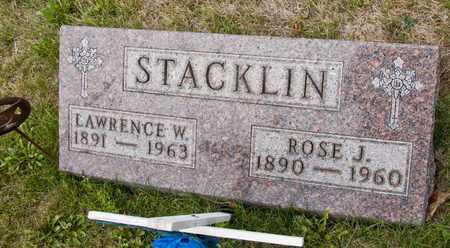STACKLIN, ROSE J - Richland County, Ohio | ROSE J STACKLIN - Ohio Gravestone Photos