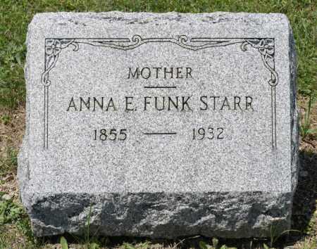 STARR, ANNA E - Richland County, Ohio   ANNA E STARR - Ohio Gravestone Photos