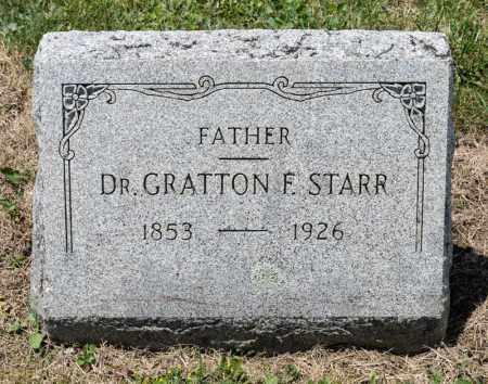 STARR, GRATTON F - Richland County, Ohio | GRATTON F STARR - Ohio Gravestone Photos