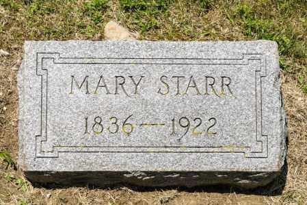 STARR, MARY - Richland County, Ohio | MARY STARR - Ohio Gravestone Photos