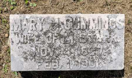 CUMMINGS STARR, MARY M - Richland County, Ohio | MARY M CUMMINGS STARR - Ohio Gravestone Photos