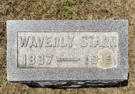 STARR, WAVERLY - Richland County, Ohio   WAVERLY STARR - Ohio Gravestone Photos