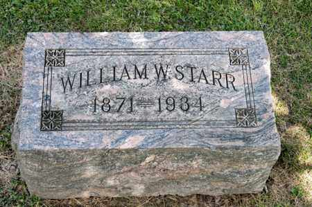 STARR, WILLIAM W - Richland County, Ohio   WILLIAM W STARR - Ohio Gravestone Photos