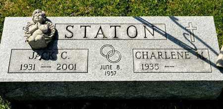 STATON, JACK C - Richland County, Ohio | JACK C STATON - Ohio Gravestone Photos