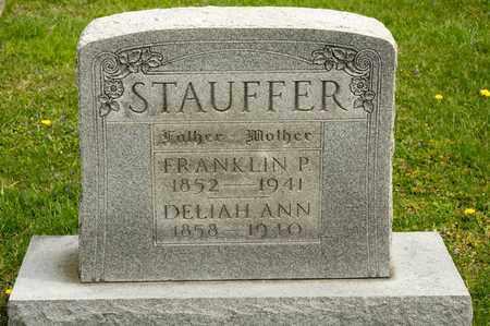 STAUFFER, FANKLIN P - Richland County, Ohio | FANKLIN P STAUFFER - Ohio Gravestone Photos