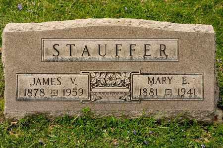 STAUFFER, JAMES V - Richland County, Ohio | JAMES V STAUFFER - Ohio Gravestone Photos