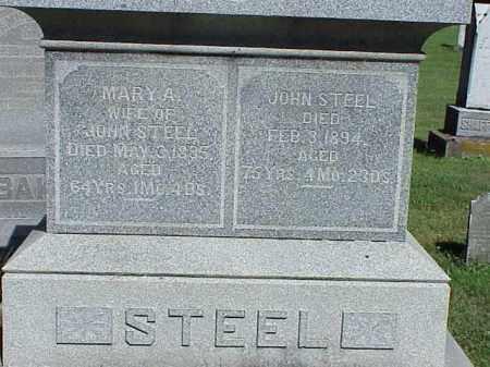 STEEL, JOHN - Richland County, Ohio | JOHN STEEL - Ohio Gravestone Photos