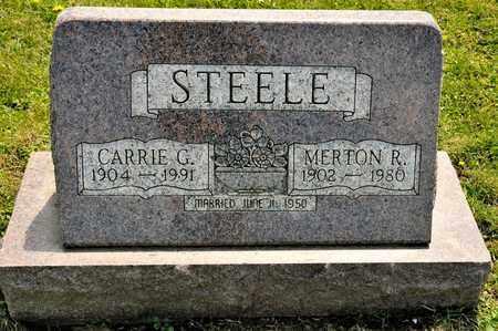 STEELE, MERTON R - Richland County, Ohio | MERTON R STEELE - Ohio Gravestone Photos
