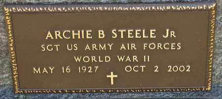 STEELE JR, ARCHIE B - Richland County, Ohio   ARCHIE B STEELE JR - Ohio Gravestone Photos