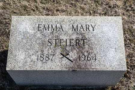 STEIERT, EMMA MARY - Richland County, Ohio | EMMA MARY STEIERT - Ohio Gravestone Photos
