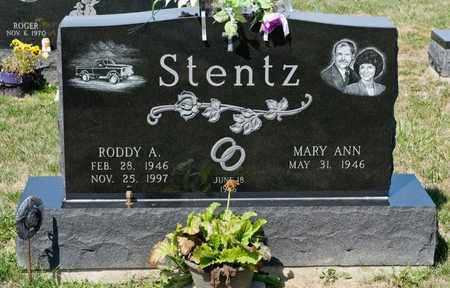 STENTZ, RODDY A - Richland County, Ohio | RODDY A STENTZ - Ohio Gravestone Photos