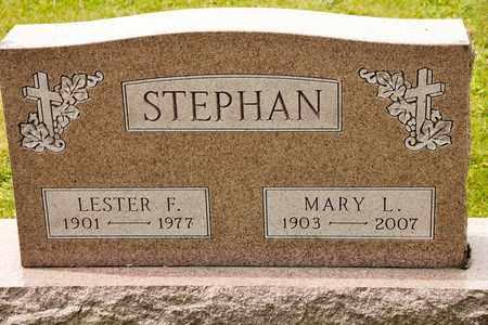 STEPHAN, LESTER F - Richland County, Ohio | LESTER F STEPHAN - Ohio Gravestone Photos