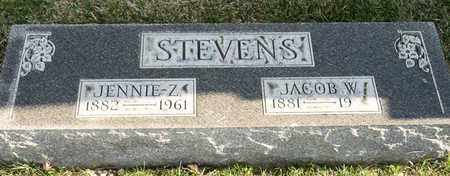 STEVENS, JENNIE Z - Richland County, Ohio | JENNIE Z STEVENS - Ohio Gravestone Photos