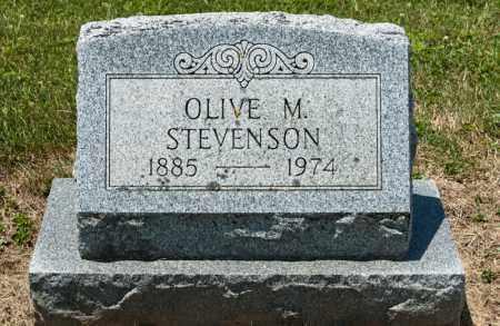 STEVENSON, OLIVE M - Richland County, Ohio   OLIVE M STEVENSON - Ohio Gravestone Photos