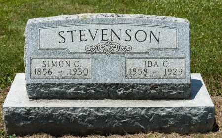STEVENSON, SIMON C - Richland County, Ohio   SIMON C STEVENSON - Ohio Gravestone Photos