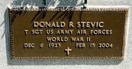 STEVIC, DONALD R - Richland County, Ohio   DONALD R STEVIC - Ohio Gravestone Photos