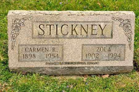 STICKNEY, CARMEN R - Richland County, Ohio | CARMEN R STICKNEY - Ohio Gravestone Photos