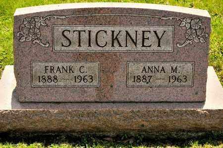 STICKNEY, ANNA M - Richland County, Ohio | ANNA M STICKNEY - Ohio Gravestone Photos