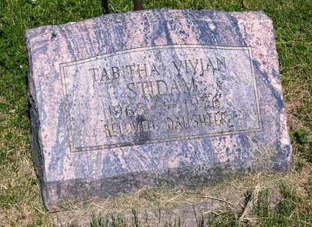 STIDAM, TABITHA VIVIAN - Richland County, Ohio   TABITHA VIVIAN STIDAM - Ohio Gravestone Photos