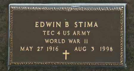 STIMA, EDWIN B - Richland County, Ohio   EDWIN B STIMA - Ohio Gravestone Photos