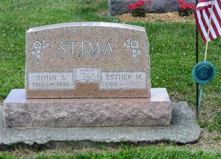 STIMA, JOHN S - Richland County, Ohio | JOHN S STIMA - Ohio Gravestone Photos