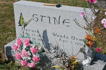 STINE, DARWIN J - Richland County, Ohio | DARWIN J STINE - Ohio Gravestone Photos