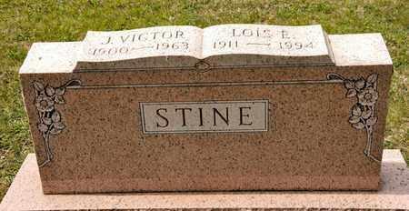 STINE, J VICTOR - Richland County, Ohio | J VICTOR STINE - Ohio Gravestone Photos