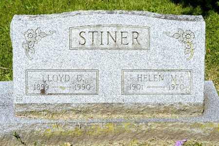 STINER, LLOYD D - Richland County, Ohio | LLOYD D STINER - Ohio Gravestone Photos