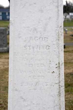 STIVING, JACOB - Richland County, Ohio   JACOB STIVING - Ohio Gravestone Photos