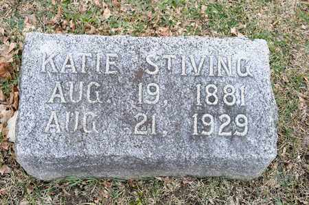 STIVING, KATIE - Richland County, Ohio   KATIE STIVING - Ohio Gravestone Photos