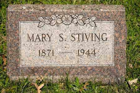 STIVING, MARY S - Richland County, Ohio | MARY S STIVING - Ohio Gravestone Photos