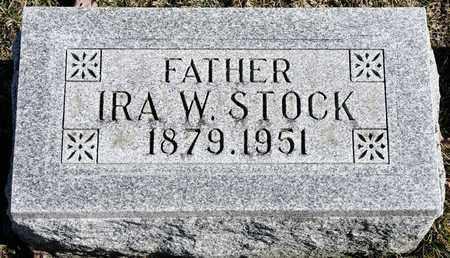 STOCK, IRA W - Richland County, Ohio | IRA W STOCK - Ohio Gravestone Photos