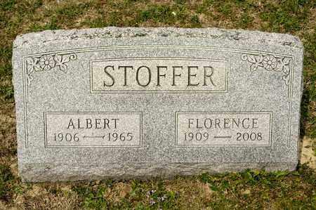 STOFFER, FLORENCE - Richland County, Ohio   FLORENCE STOFFER - Ohio Gravestone Photos