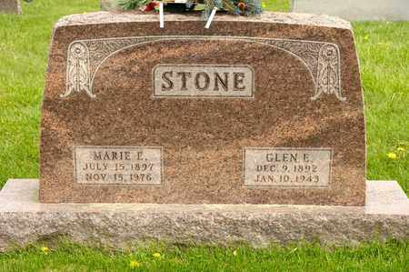 STONE, GLEN E - Richland County, Ohio | GLEN E STONE - Ohio Gravestone Photos