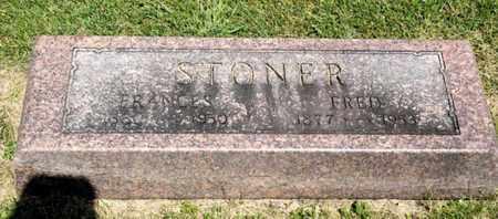 STONER, FRED - Richland County, Ohio | FRED STONER - Ohio Gravestone Photos
