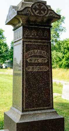 STONER, SUSANAH - Richland County, Ohio | SUSANAH STONER - Ohio Gravestone Photos