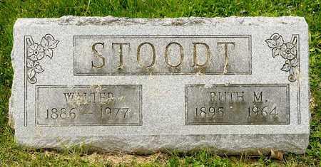 STOODT, WALTER - Richland County, Ohio   WALTER STOODT - Ohio Gravestone Photos