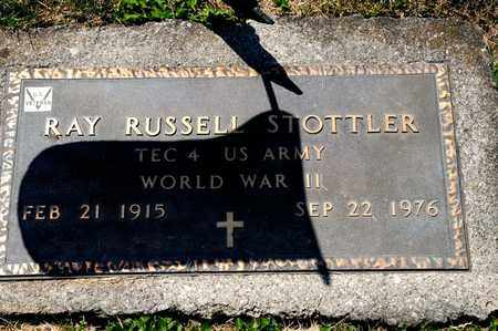 STOTTLER, RAY RUSSELL - Richland County, Ohio   RAY RUSSELL STOTTLER - Ohio Gravestone Photos
