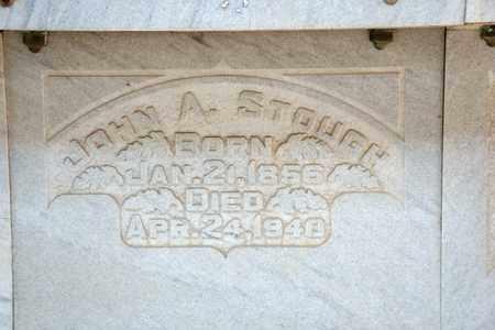 STOUGH, JOHN A - Richland County, Ohio   JOHN A STOUGH - Ohio Gravestone Photos