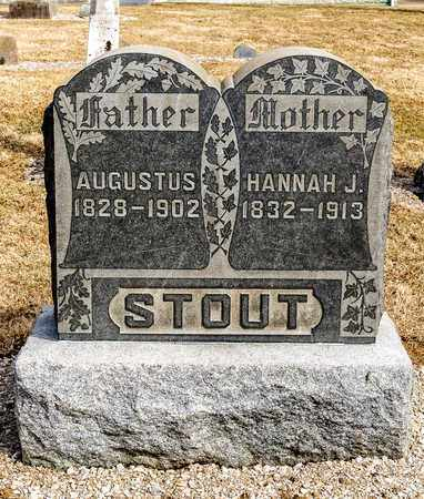 STOUT, HANNAH J - Richland County, Ohio | HANNAH J STOUT - Ohio Gravestone Photos