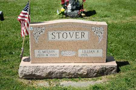 STOVER, G MELVIN - Richland County, Ohio   G MELVIN STOVER - Ohio Gravestone Photos