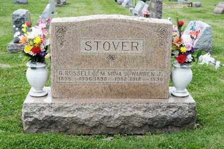 STOVER, G RUSSELL - Richland County, Ohio | G RUSSELL STOVER - Ohio Gravestone Photos