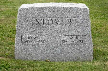 STOVER, HENRY F - Richland County, Ohio | HENRY F STOVER - Ohio Gravestone Photos