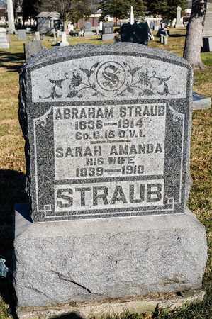STRAUB, SARAH - Richland County, Ohio | SARAH STRAUB - Ohio Gravestone Photos
