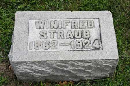 STRAUB, WINIFRED - Richland County, Ohio | WINIFRED STRAUB - Ohio Gravestone Photos