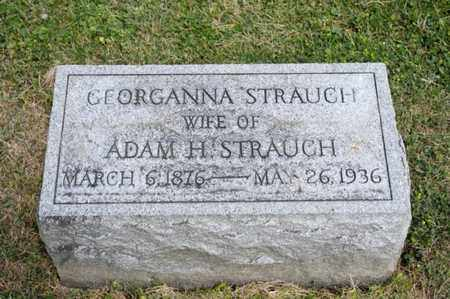 STRAUCH, GEORGANNA - Richland County, Ohio | GEORGANNA STRAUCH - Ohio Gravestone Photos
