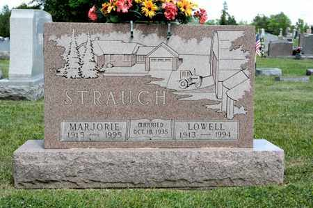 STRAUCH, LOWELL - Richland County, Ohio | LOWELL STRAUCH - Ohio Gravestone Photos