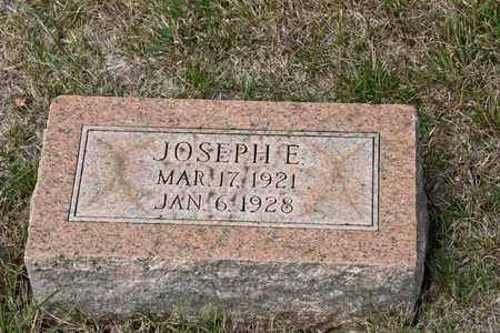 STRAUSBAUGH, JOSEPH E - Richland County, Ohio | JOSEPH E STRAUSBAUGH - Ohio Gravestone Photos