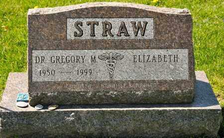 STRAW, GREGORY M - Richland County, Ohio | GREGORY M STRAW - Ohio Gravestone Photos